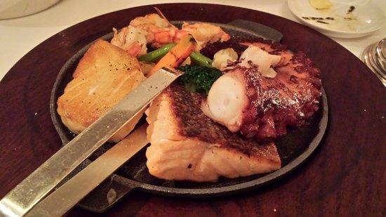 Duhau Restaurante & Vinoteca: Degustação de frutos do mar