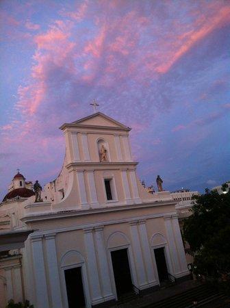 Hotel El Convento: View from Happy hour