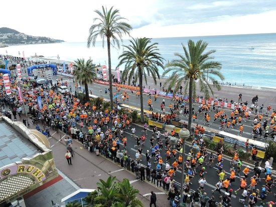 Mercure Nice Promenade des Anglais: Vista do Quarto