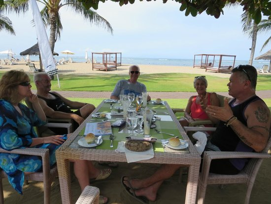 Grand Mirage Resort and Thalasso Bali: Lovely outdoor restaurant