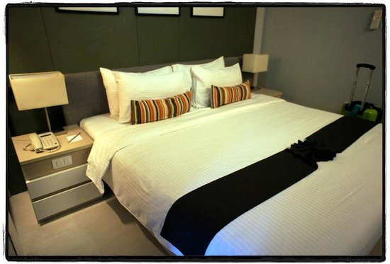 At Mind Executive Suites: bed