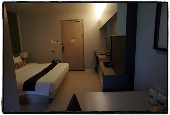 At Mind Executive Suites: room from the balcony