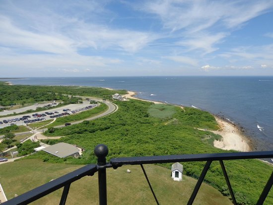 Montauk Point Lighthouse: view from the top of the light house