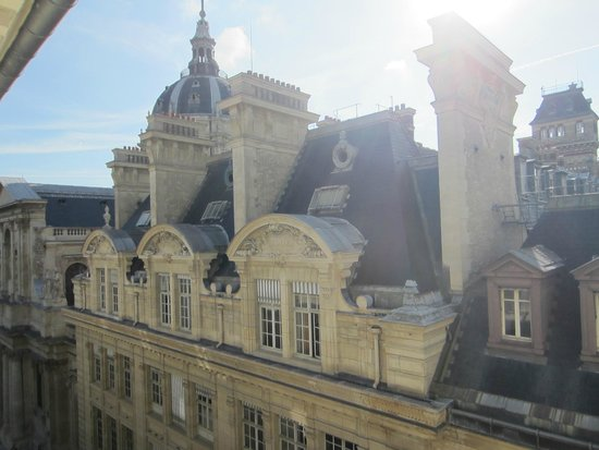 Hotel Design Sorbonne: View from Room 53