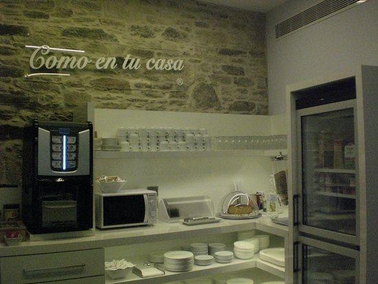 Smart Boutique Hotel Literario San Bieito: café da manhã