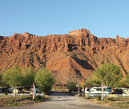 Spanish Trail RV Park: Panoramic Views