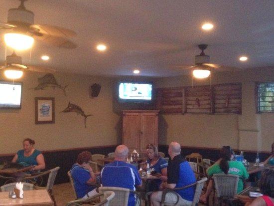 JAX Bar & Grill: The upstairs