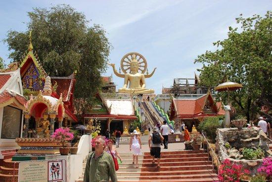 Big Buddha Temple (Wat Phra Yai): Хорошее место