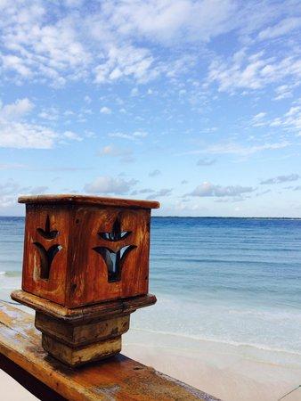 Anda Beach Hotel & Restaurant: View