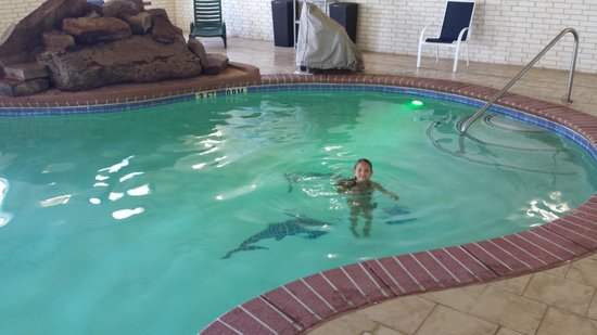 Holiday Inn Express Hotel & Suites Amarillo East: pool to herself :-)