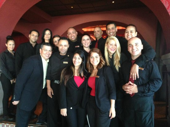 Chops Steakhouse: Our staff