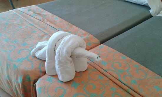 Iberostar Fuerteventura Palace : Jugando con las toallas