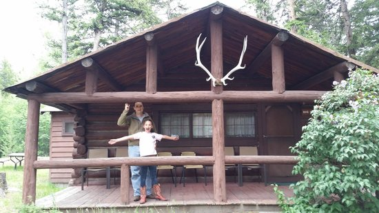 Blackwater Creek Ranch : Our cabin