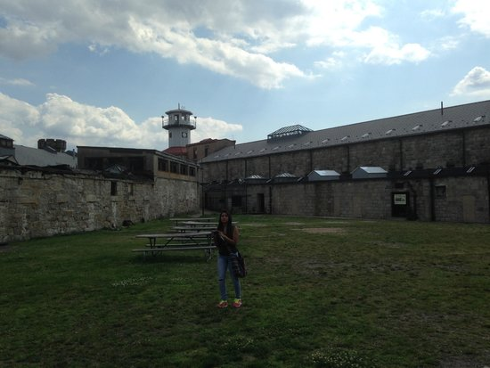 Eastern State Penitentiary : The recreation yard