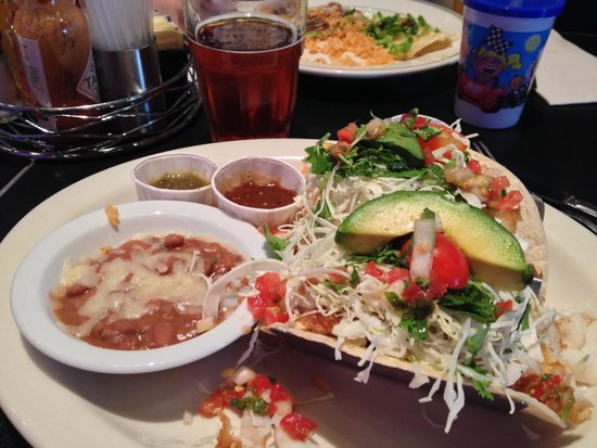 Plaza Cafe Southside: Fish tacos
