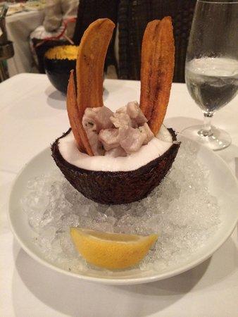 Atlantic's Edge: Fresh Ceviche. Excellent.