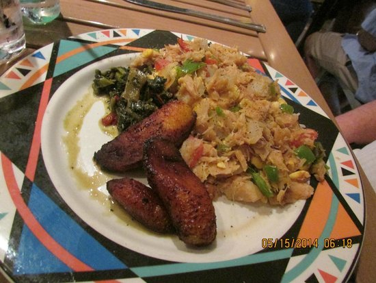 Bob Marley A Tribute to Freedom : meal with plantain