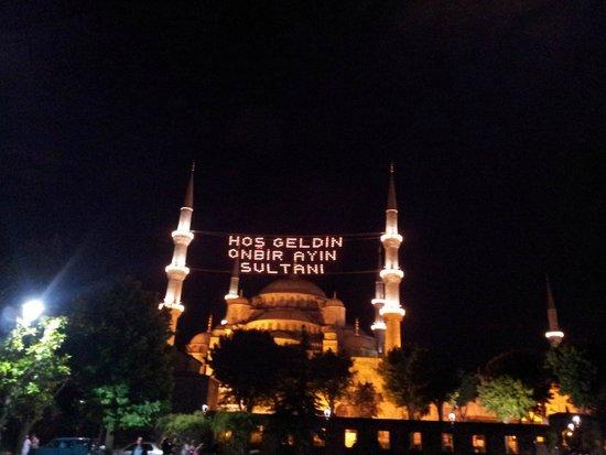 Blue Mosque: Nuit de fête