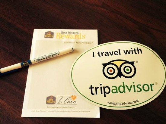 Best Western Plus Fairfield Hotel : I travel with tripadvisor!