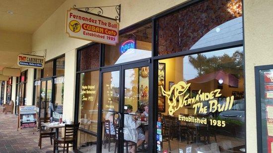 Fernandez the Bull Cuban Cafe