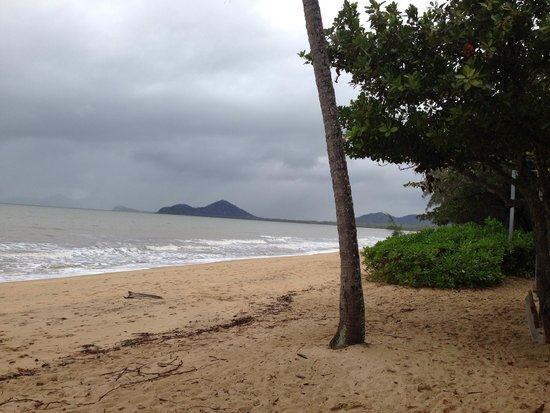 Palm Cove Beach: Looking south