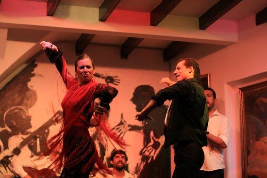 Tablao Flamenco Los Gallos: フラメンコ1
