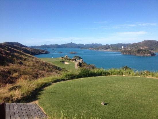 Hamilton Island Golf Club: Unbelievable views