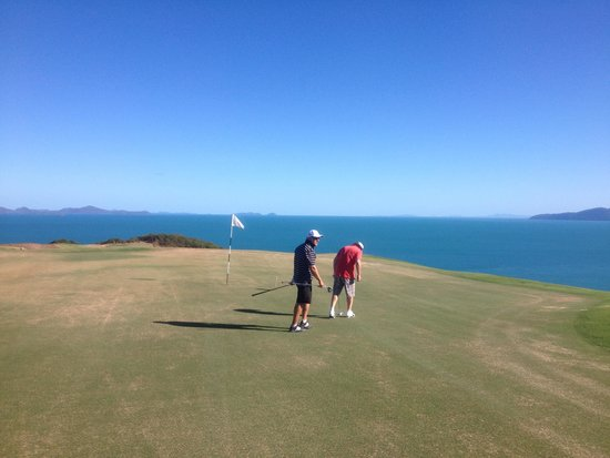Hamilton Island Golf Club: Top of the island