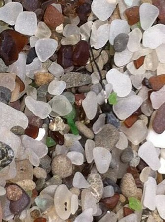 Glass Beach: What super cool result of a man made blunder