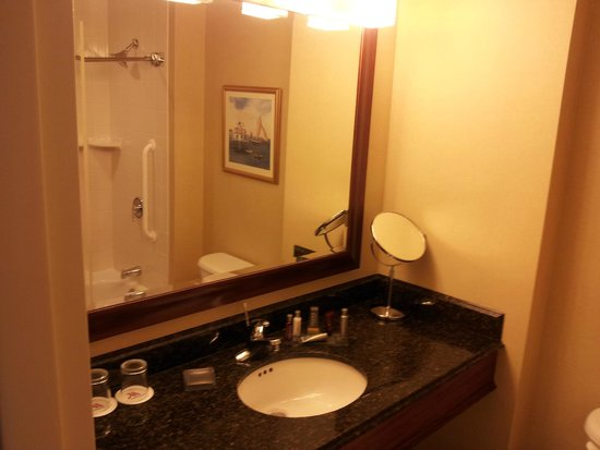 Mystic Marriott Hotel & Spa: Bathroom