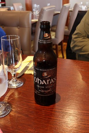 Thyme Restaurant: Irish craft beer!