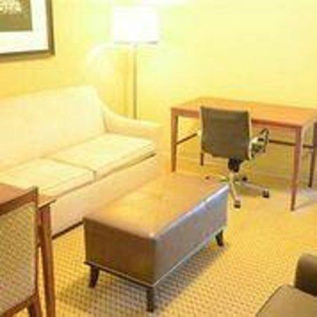 Americas Best Value Inn & Suites - Bush Int'l Airport Wes: Living Room