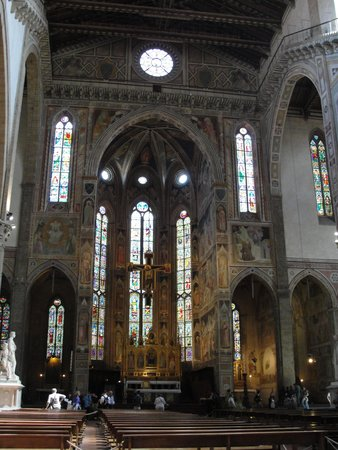 Basilica di Santa Croce: Beautiful Stained Glass