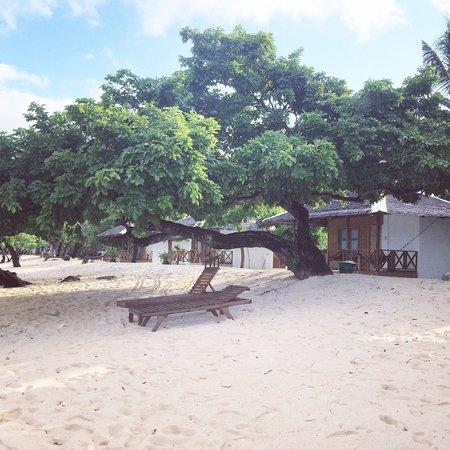 Club Paradise Palawan: Beach front