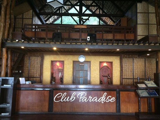 Club Paradise Palawan: The clubhouse