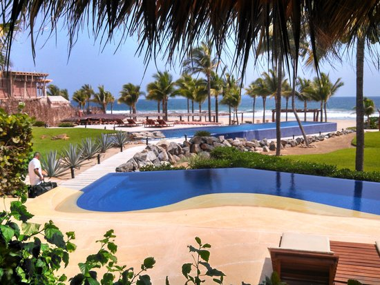 Hotel Las Palmas: view from the room