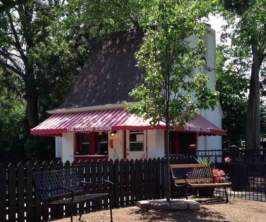 Custard Station: Perfect spot to relax and enjoy delicious custard creations!