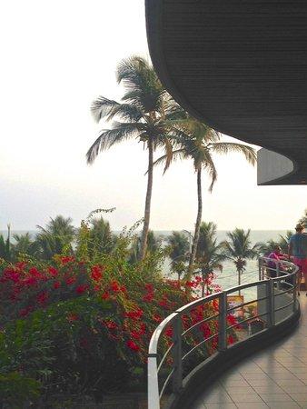 Mamba Point Hotel: View from the dining veranda