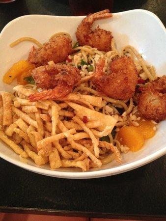 Rundown Cafe : Coconut Shrimp and Sesame Noodles
