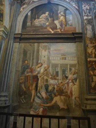 Chiesa di San Maurizio al Monastero Maggiore : One of the many amazing pieces of artwork