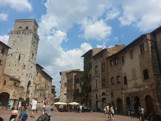 Torre del Mangia: Town entry