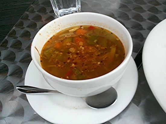 Mediterranean Grill: Chicken Vegetable Soup (cup, huge)