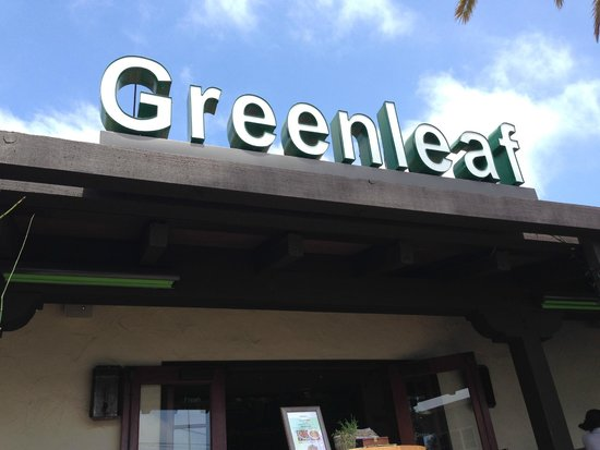Greenleaf Gourmet Chopshop: Main entrance.