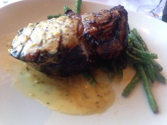 Portland City Grill : Pork Chop! - Really Big!