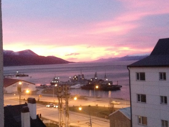Cilene del Faro Suites & Spa : Beagle channel from a 4th room