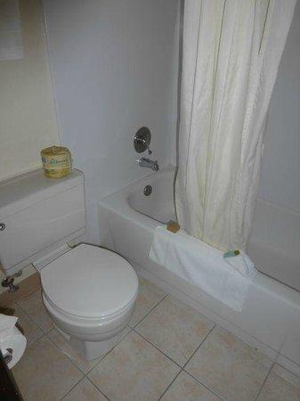 Campus Inn Missoula: Nice shower