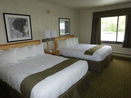 Campus Inn Missoula : Very clean and nice rooms