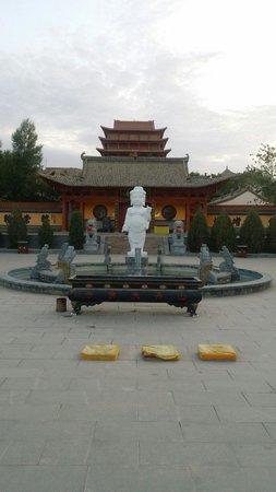 Shandan County, الصين: 九龙沐太子