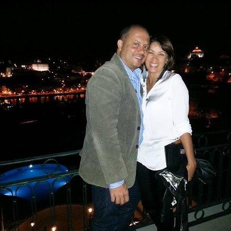 The Yeatman : Eu e Marido vista a noite