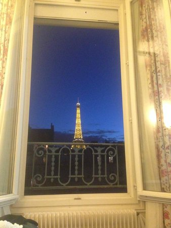 Hotel Jardins d'Eiffel : Another amazing view